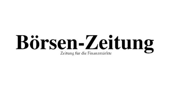 Hier sehen Sie das Logo von der Börsen-Zeitung