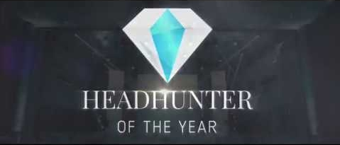 Hier sehen sie das Logo des Headhunter of the Year Awards