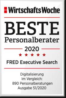 WiWo_Beste Personalberater 2020_Kategorie Digitalisierung
