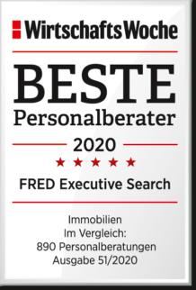 WiWo_Beste Personalberater 2020_Kategorie Immobilien